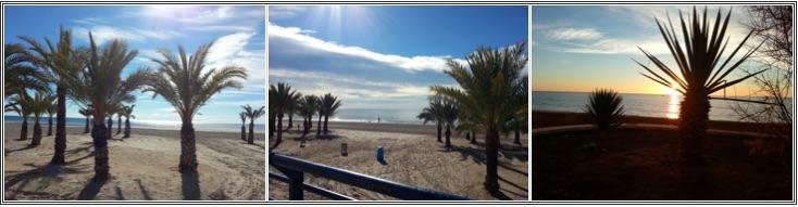 blanke Spaanse kust